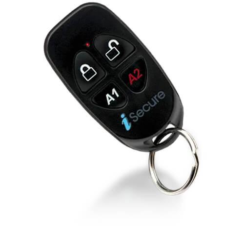 ISEC-KEYFOB NAPCO Standard 4-button wireless key fob