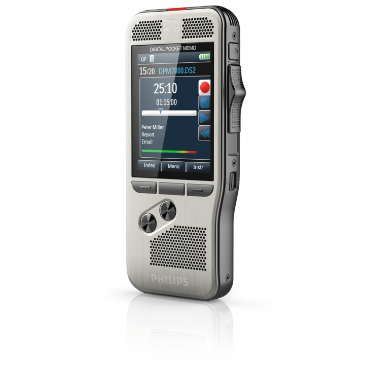 PSP-DPM7000/02 PHILIPS DPM7000 RECORDER W/SLIDE SWITCH WITH SPEECH EXEC DICTATE SOFTWARE AND 2 YEAR LICENSE