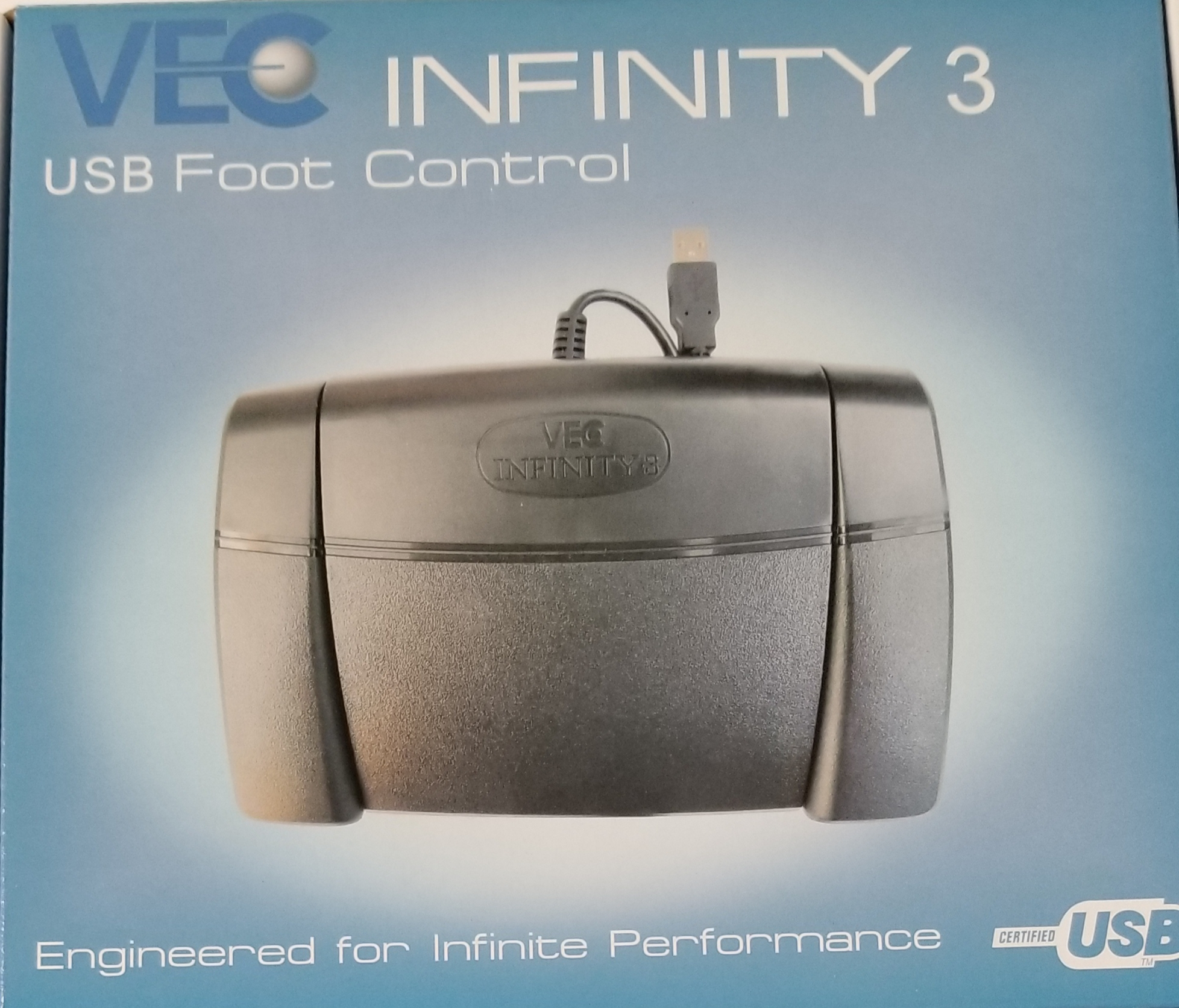 VEC-INFINITY 3 USB DIGITAL FOOT CONTROL