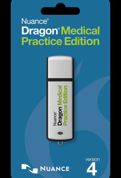 NUA-ESN-A709A-X00-4.0-USB - DRAGON MEDICAL PRACTICE EDITION 4 ESN PLUS THUMB DRIVE