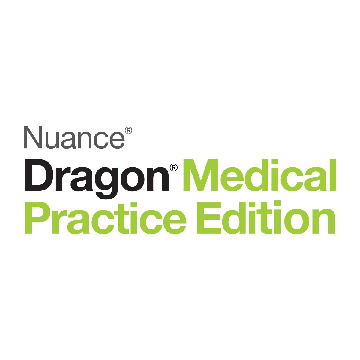 NUA-ESN-A709A-X00-4.0 DRAGON MEDICAL PRACTICE EDITION 4 **NON-PHYSICAL PRODUCT**